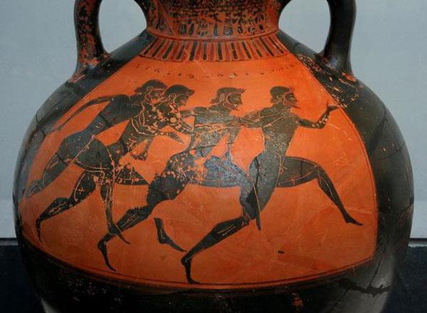 бег-грече. воин Фидиппид пробежал- 560 г. до н.