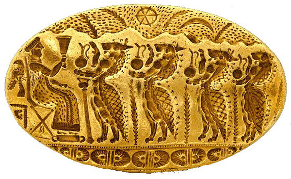 золот-Перстень из Микен.