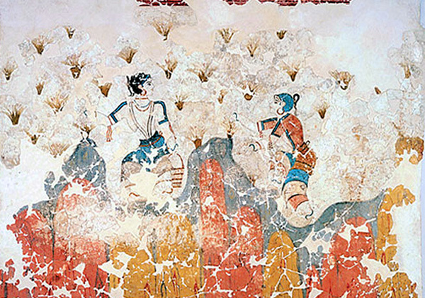 фреска-1-Minoan_Saffron_Gatherers_Fresco_Art