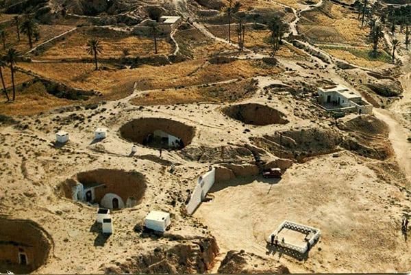 Матмата — маленький берберский городок на юге Туниса. 2