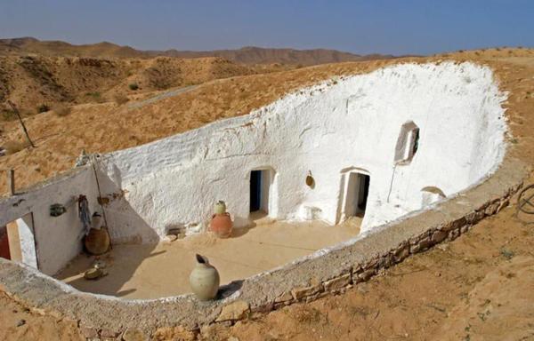 Матмата — маленький берберский городок на юге Туниса. 3