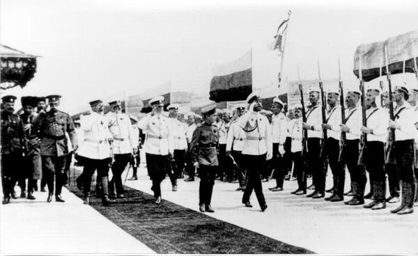 Прибытие Николая II в Севастополь.