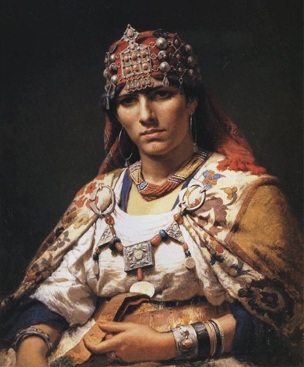 бер-бер-царица-Кахина. Мозабиты