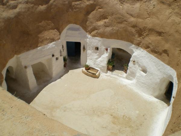 дом-берберы в Тунисе