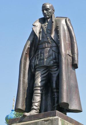 иркутск-памятник колчаку