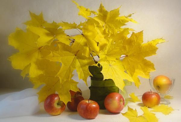 листья-