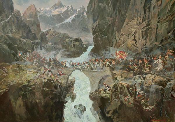переход через альпы 1799