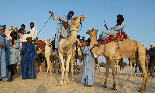 туареги-синие одежды-