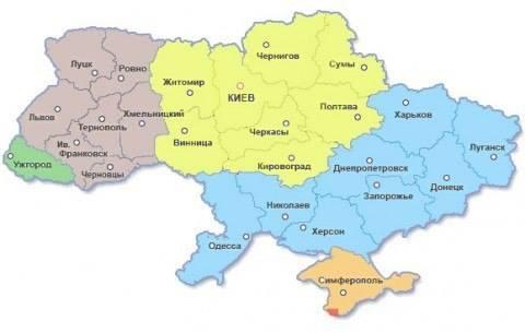 украина-раздел