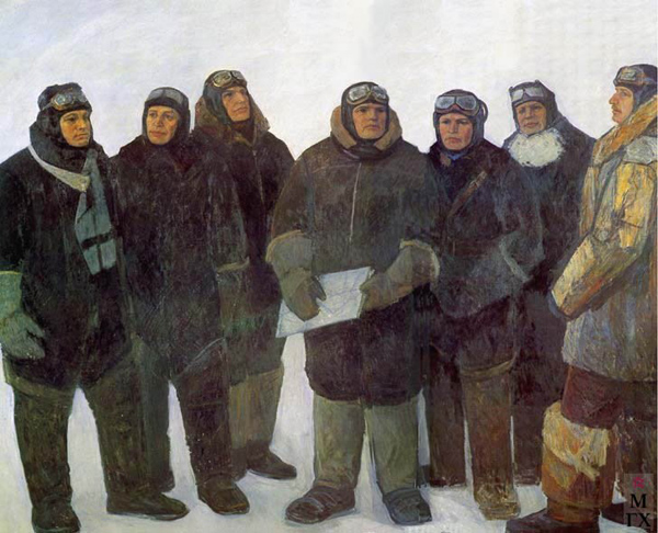 1-спасители челюскинцев