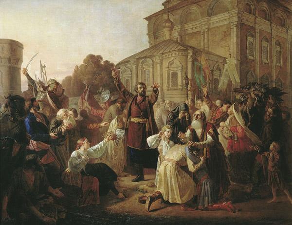 4 ноября-Воззвание_Минина_к_нижегородцам_в_1611_году