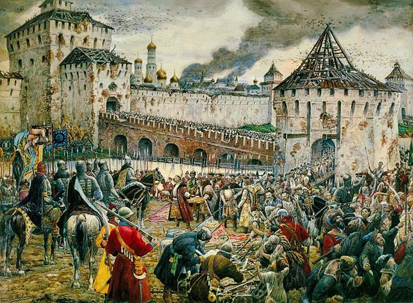 4-ноября-Изгнание поляков из Кремля. Э. Лисснер