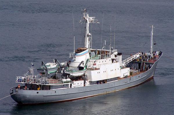 Гидрографическое судно -Челекен