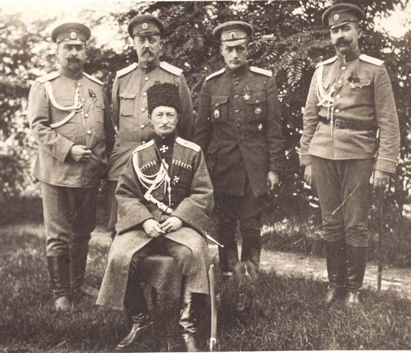 а. брусилов-и офицеры