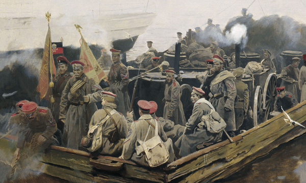 исход Белой армии из Крыма-