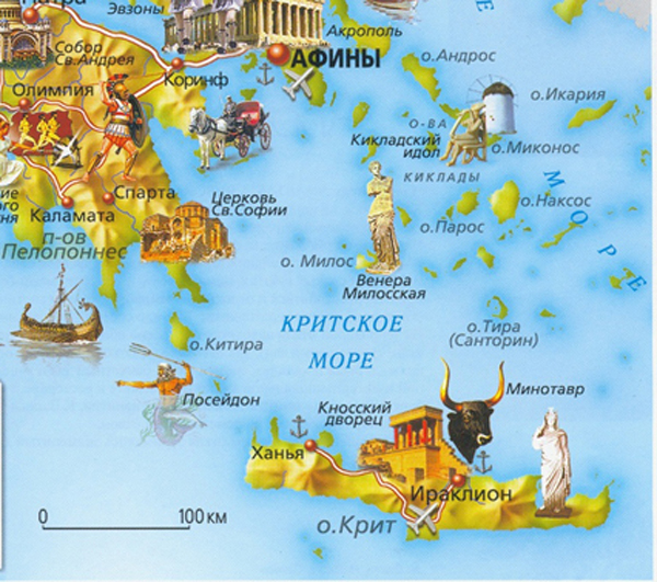 карта-Greece=Map