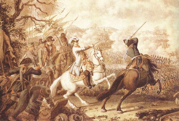 Ходовецкий.-Сражение-при-Кагуле-21-июля-1-августа-1770-года.