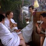 Предновогодняя традиция ходить в баню.