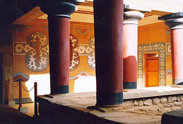Knossos, inside Palace