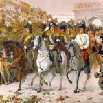 Русские казаки в Париже