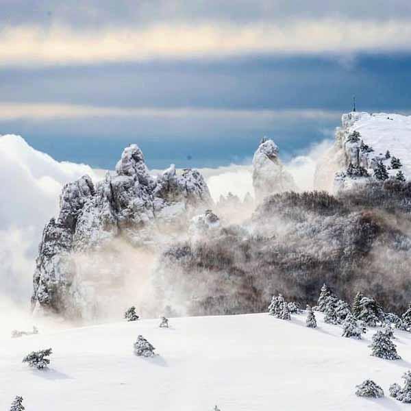 Зимняя сказка на Ай-Петри