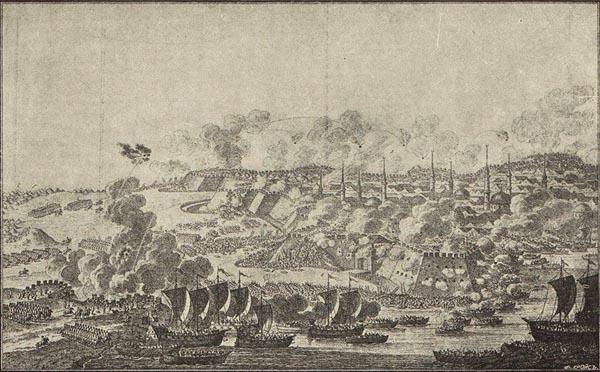 Измаила Суворовым в 1790 году