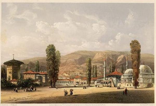 Карло Басолли-Бахчисарая ханский дворец