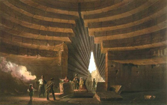 Карло Боссоли. Могила Митридата. 1856.
