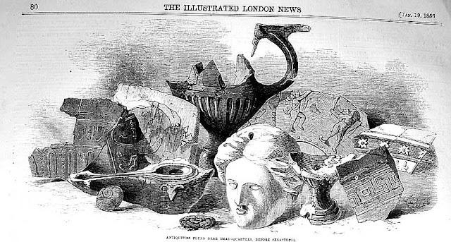 Находки полковника Монро. Illustrated London News, 1856.