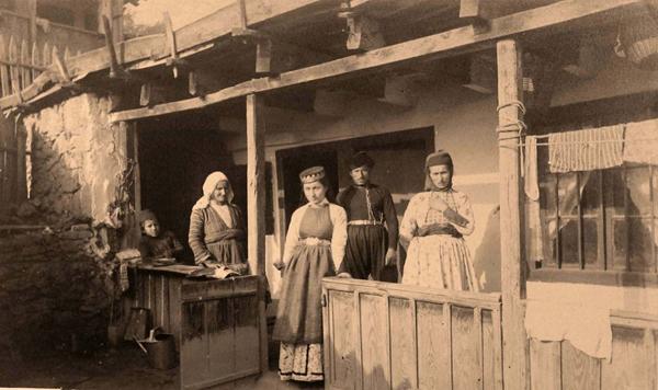 Семья крымских караимов