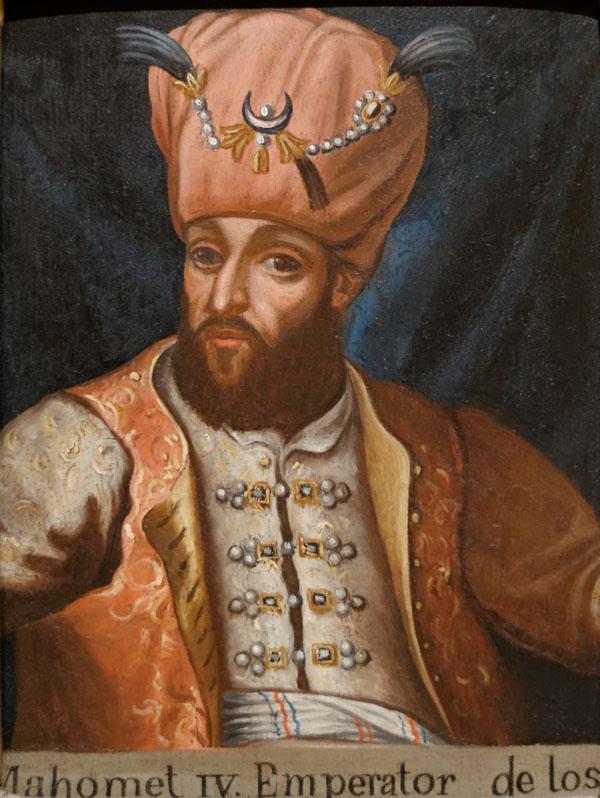 Султан турецкий Мехмед IV.