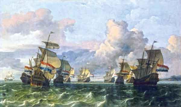 британские воен. корабли