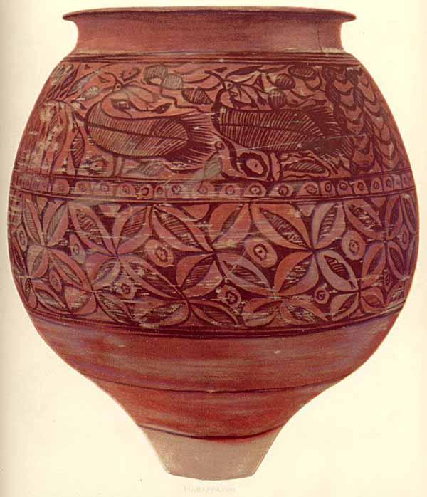 ваза ритуальная свадебная из Chanhu-daro