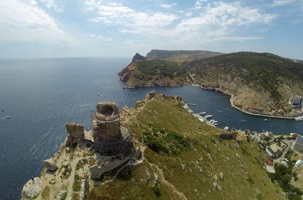 генуэзская крепость- Чембало