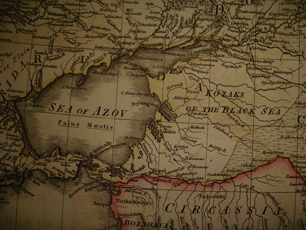 казак-1806-KOZAKS_of_the_BLACK_SEA_on_the_MAP_of_1806