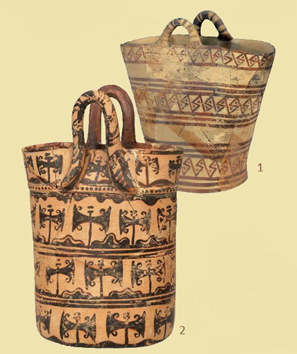 керам-1500-1450 до н.э.-украшены пелекусами