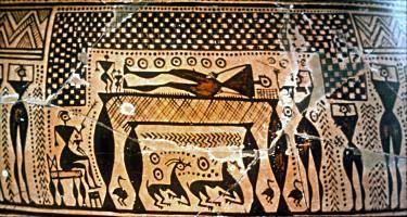 козы-саркофаг из Агиа Триады