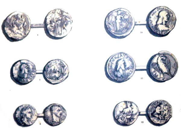содержимое курганов-монеты пана