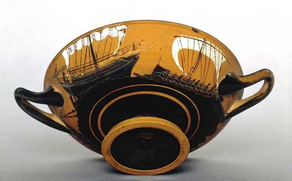 торгов. корабль и пиратский-520-500 до н. Э.