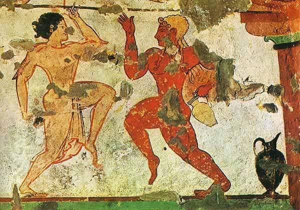 фреска-жен-юн-кносс
