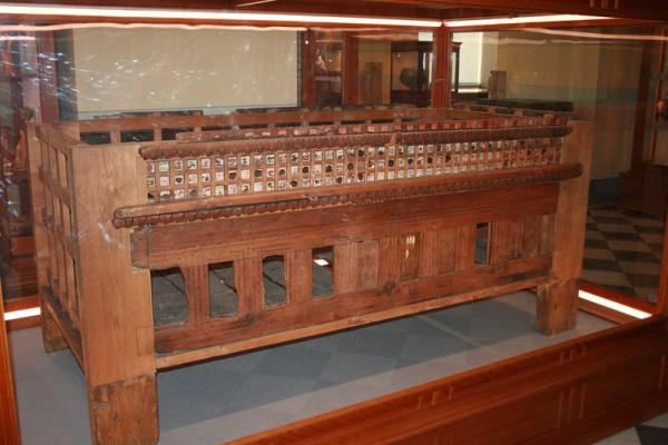 Саркофаг, найденный в склепе близ Керчи 2 в.--