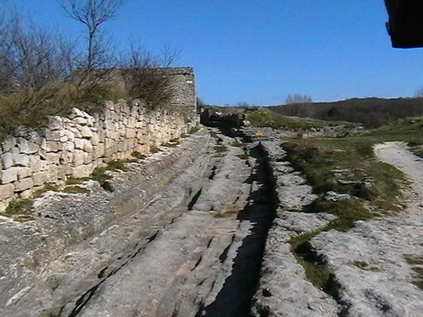 1-дорога в чуфут-кале