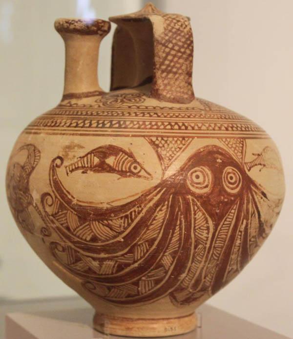 1200 в до н.э.-осмин-микенск. ваза- кладбище Perati-.