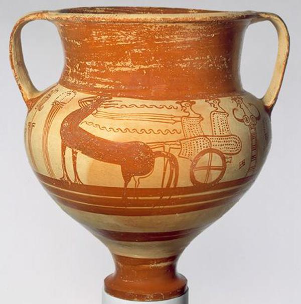 1300 г. до н.э.-Микенская колесница-
