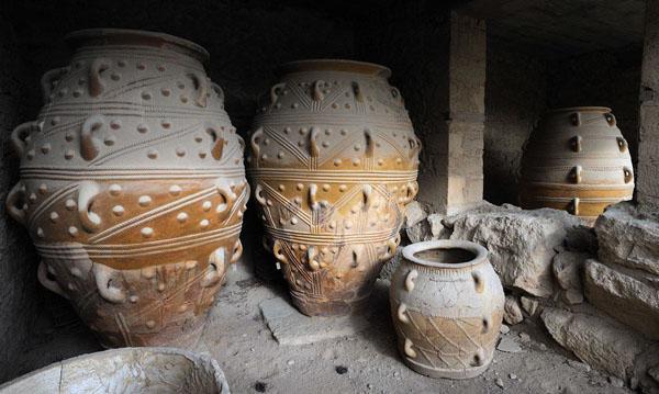 1500 до н.э. -Пифосы-- Минойские