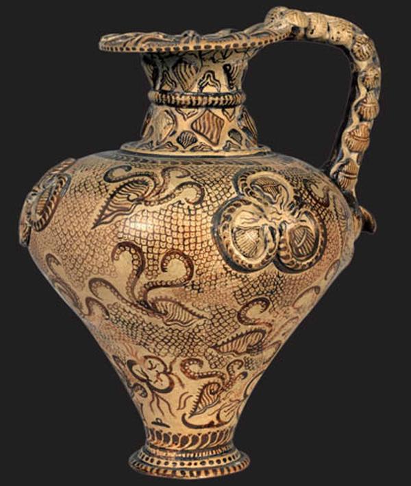 1500-1450 г. до н.э. ойнахойя. Василики.