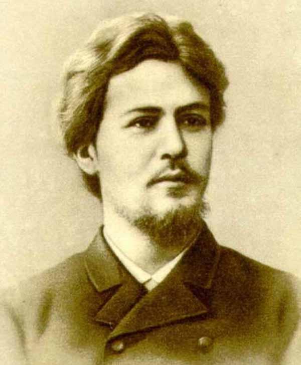 Антон Чехов 1886 г., Москва