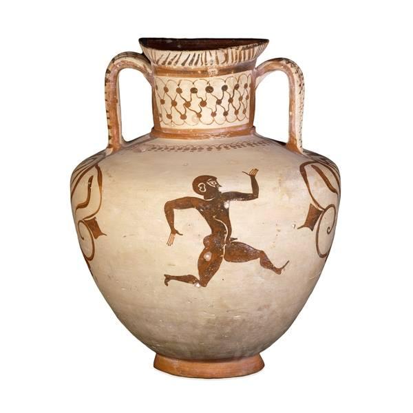 540-530 г до н.э.-Anfora,kamiros, Родос