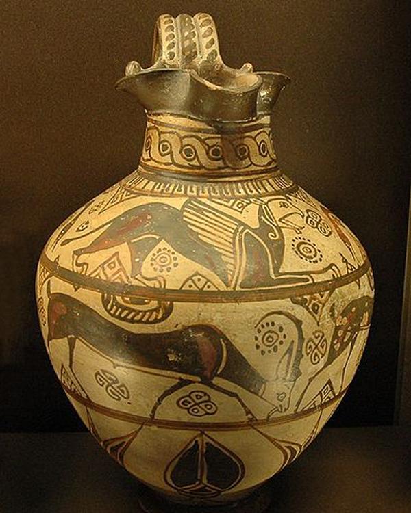 600г.до.н.э-Ойнохойя -кувшин для вина-