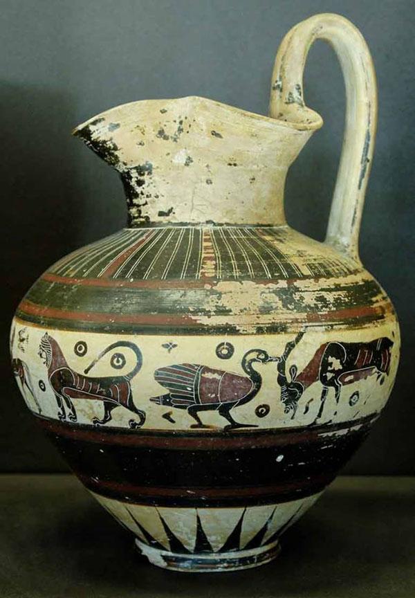 -640 г. до н.э-козы-керам-крит-гуси.